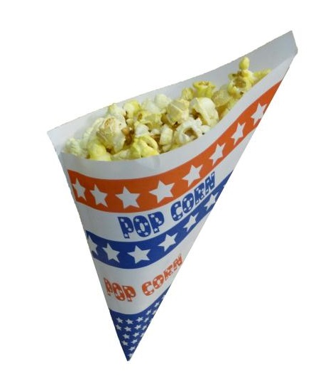 Popcornzakjes amerikaans motief