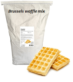 brussels waffle mix 10 kg