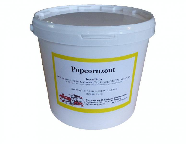 popcornzout 10 kg